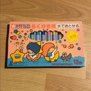 Little Twin Stars Crayons 1976